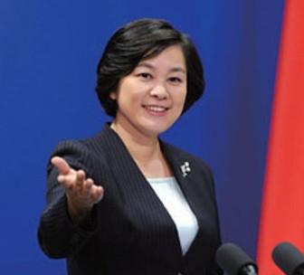 華春瑩(か しゅんえい)報道官の可愛い笑顔