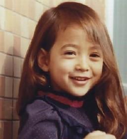 滝川クリステルの5歳の画像