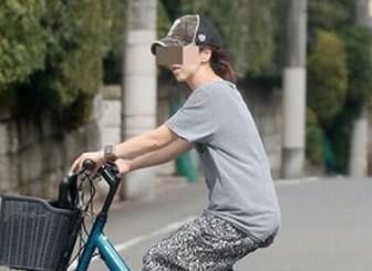 ビートきよしの嫁,横井喜代子,自転車画像