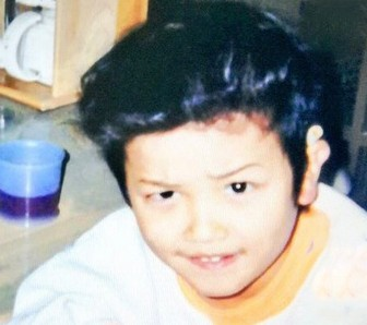 横浜流星の幼い頃に家で撮った画像