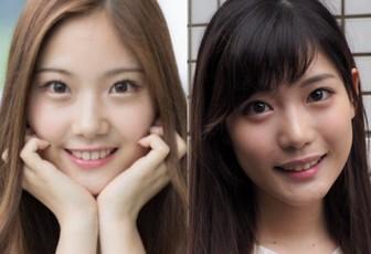 野村彩也子アナと竹俣紅が似ててかわいい