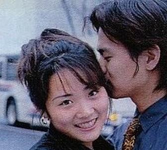 高島彩のギャル時代のキス写真