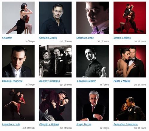 エフェクトタンゴスタジオの講師達の画像