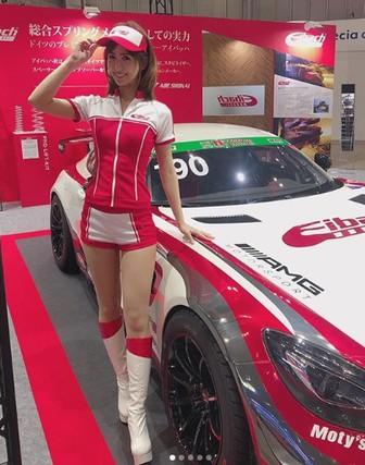 奥村美香がかわいい!レースクイーン画像