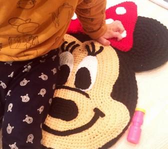 大和田美帆の子供とミッキーマウス