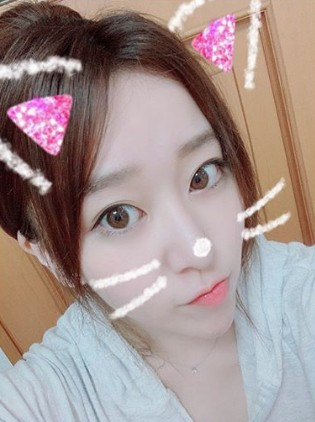 中冨杏子のかわいいプリクラf画像