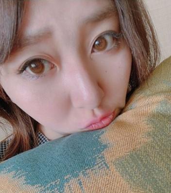 中冨杏子のかわいい口元画像