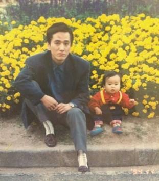 中冨杏子の幼少期のかわいい画像