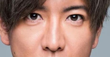 キムタクの鼻のアップ画像