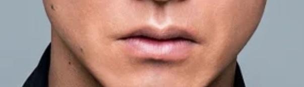 キムタクの口のアップ画像