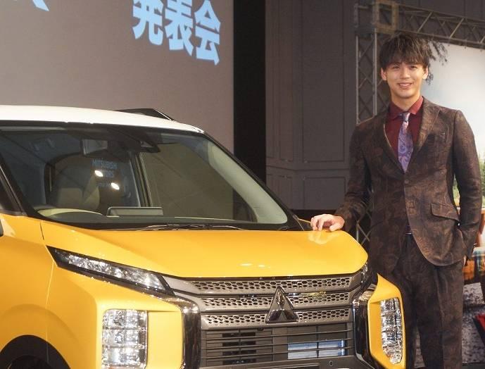 竹内涼真の愛車は三菱自動車のekワゴンではない