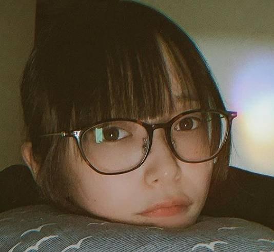 つぶら,かわいい,メガネ,画像