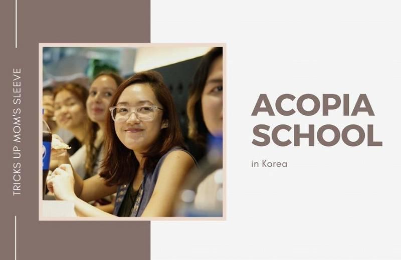 韓国のアコピアスクール2