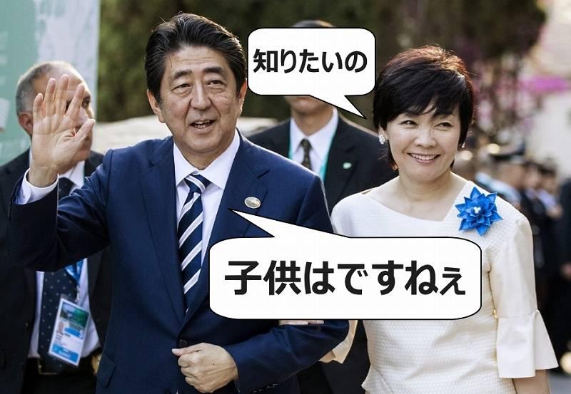 安倍首相に子供はいるの?いない理由に意外な事情が!昭恵夫人が原因か