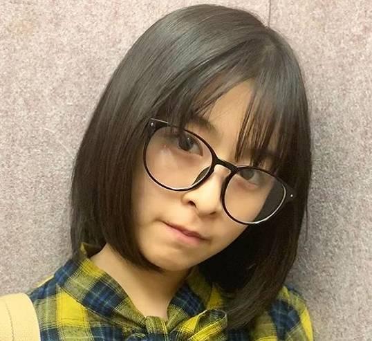 森七菜のかわいいメガネ画像13