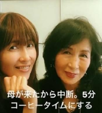 工藤静香と母親がそっくりな画像1
