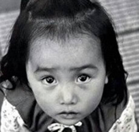 工藤静香の幼少期の画像