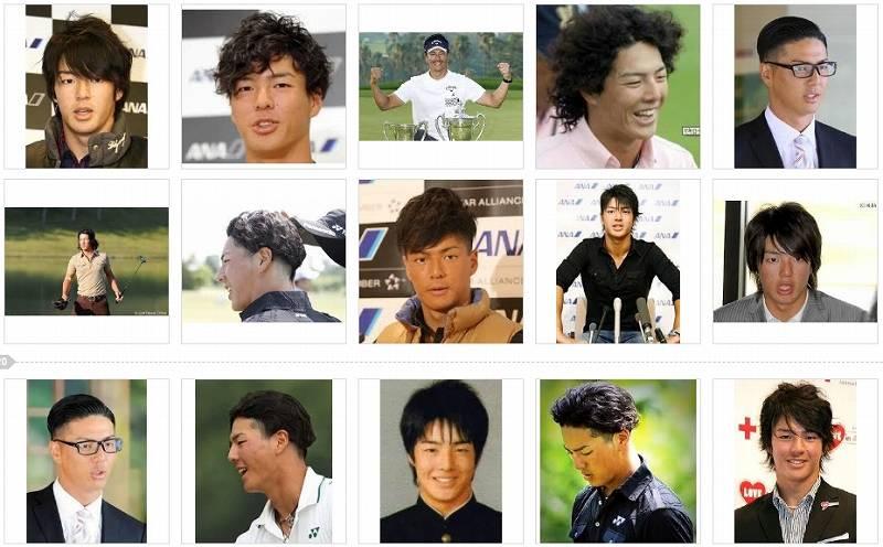石川遼の髪型はダサい?最新までの画像一覧
