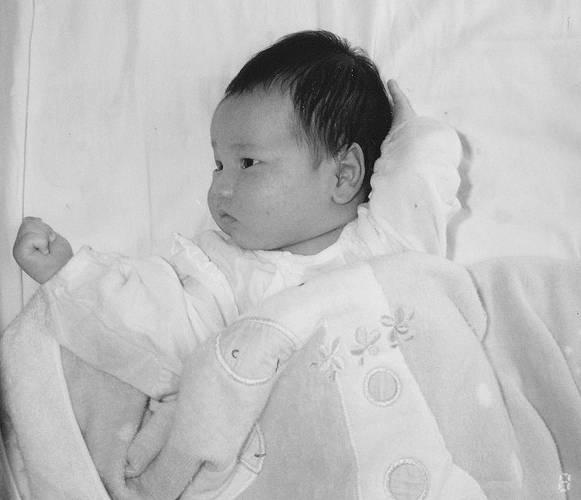 大谷翔平の赤ちゃん時代画像2