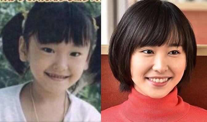新垣結衣,昔,6歳,顔,画像,比較