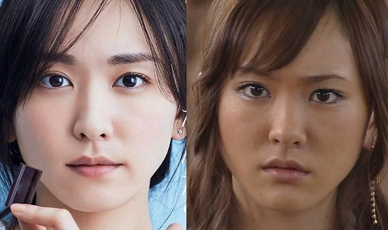 新垣結衣,昔,ドラゴン桜,顔 画像,比較