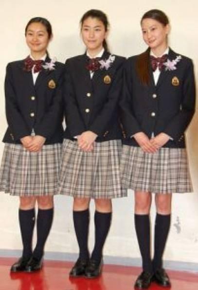 河北麻友子の高校時代の足が細くて長い画像
