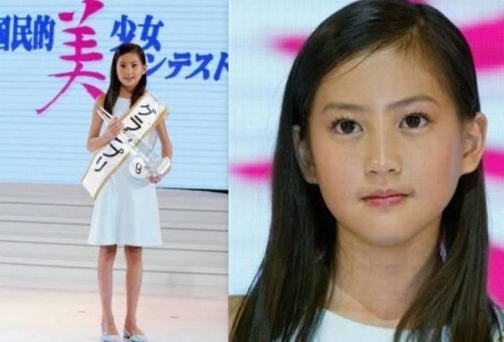 河北麻友子の美少女コンテストの足が細くて長い画像