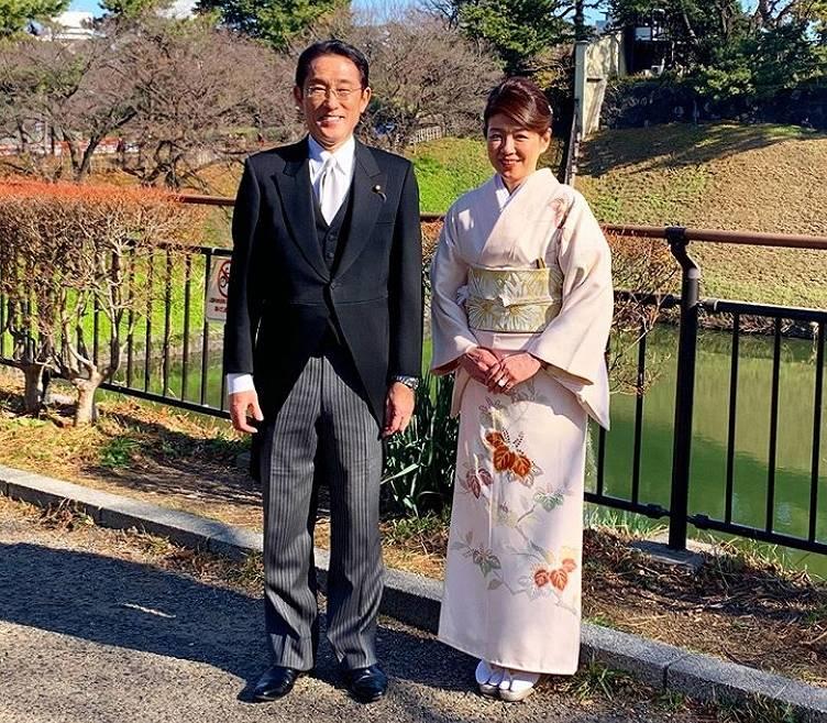 岸田文雄と嫁、裕子夫人との夫婦仲が良い画像2