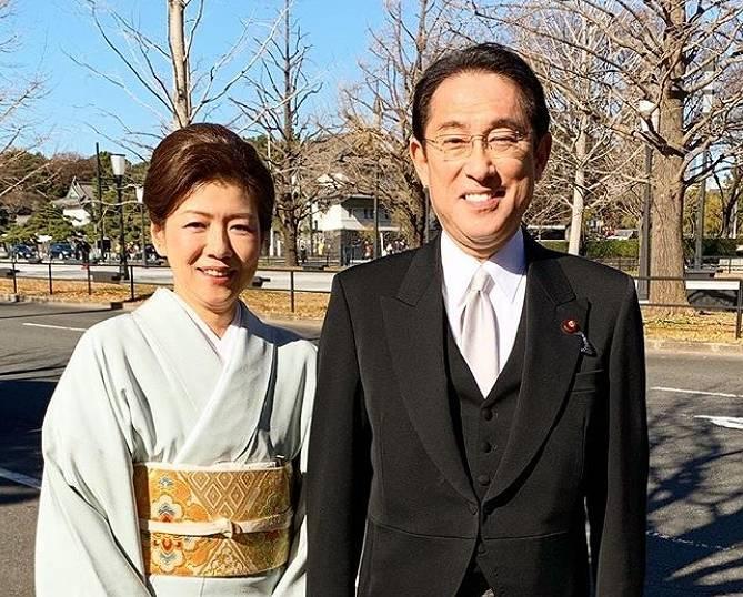 岸田文雄と嫁、裕子夫人との夫婦仲が良い画像1