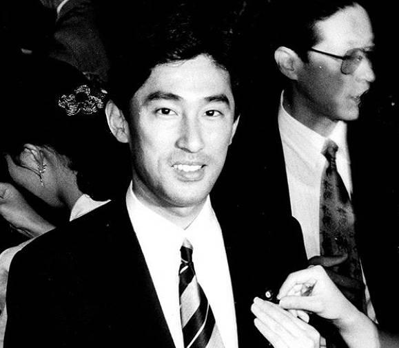 裕子夫人と結婚した頃の岸田文雄