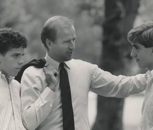 バイデンの結婚した嫁、ジルとの子供