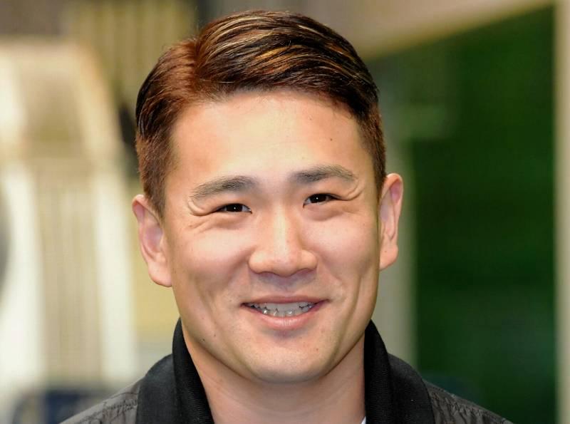 田中将大の最新のツーブロックの髪型
