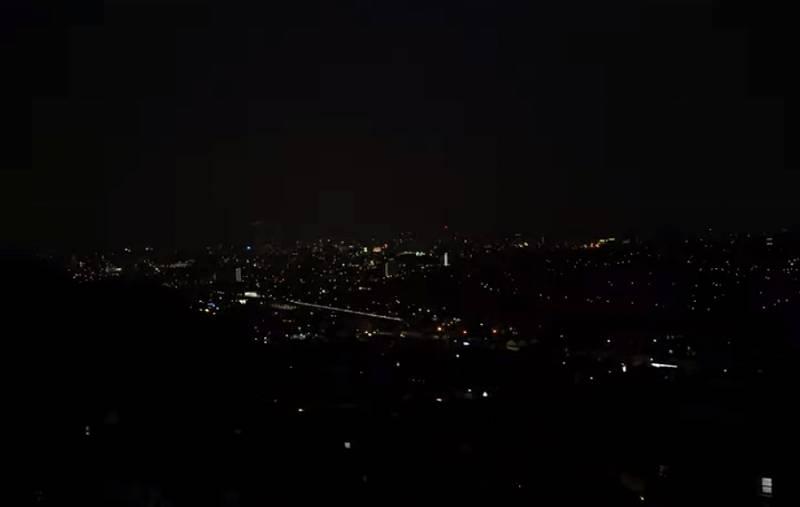 吉田類の自宅から見た夜景