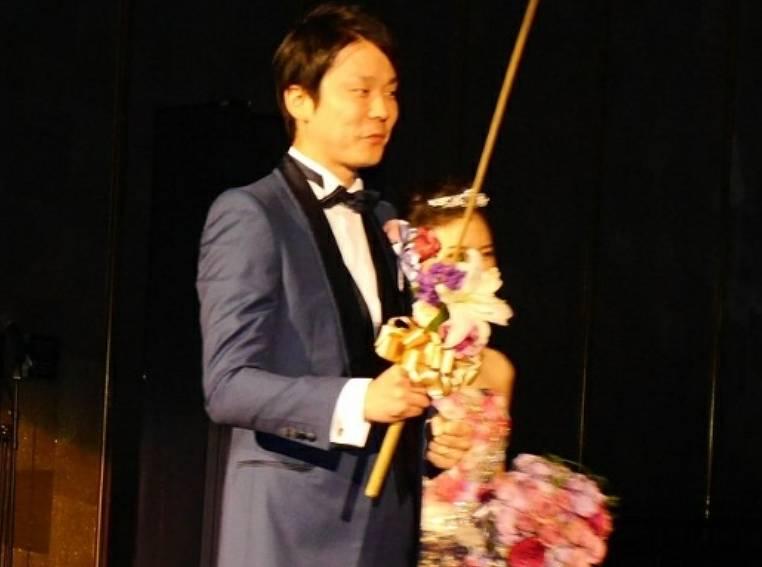 濱家と嫁のキャンドルサービス画像