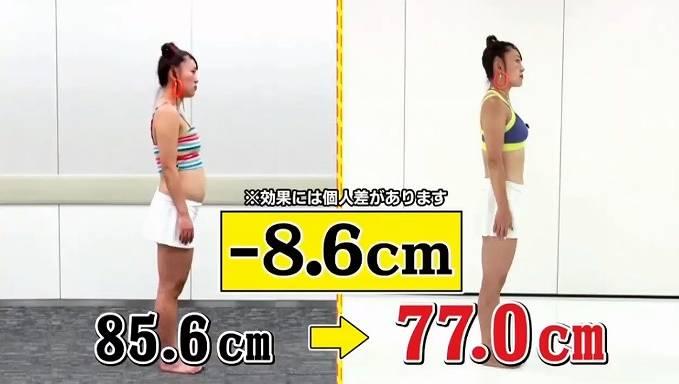 フワちゃんが痩せた画像比較2