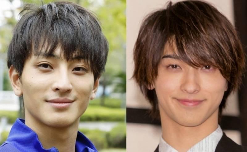 橋岡優輝と横浜流星の笑った顔比較