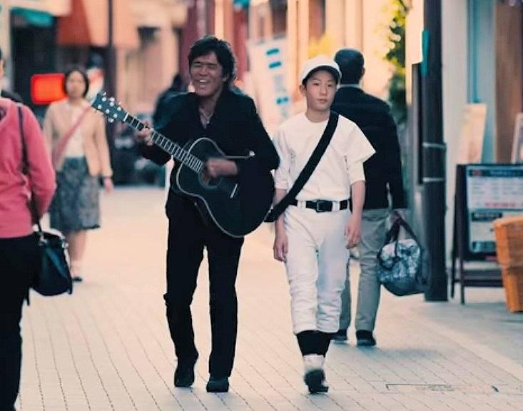 松谷優輝と父親?