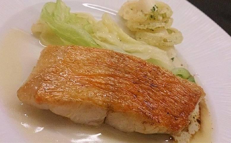 NTT会員制レストランの麻布ノックス魚料理