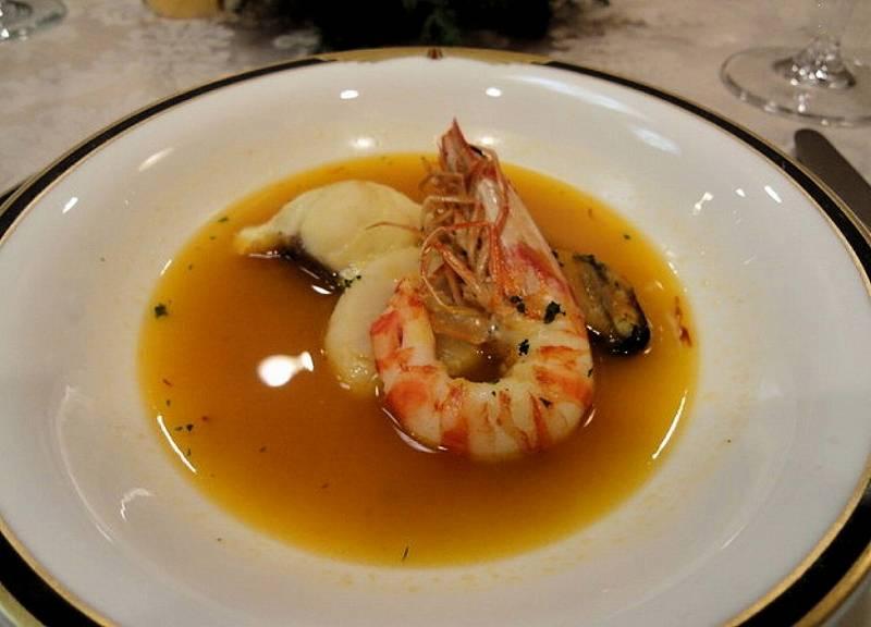 NTT会員制レストランの麻布ノックスエビ料理