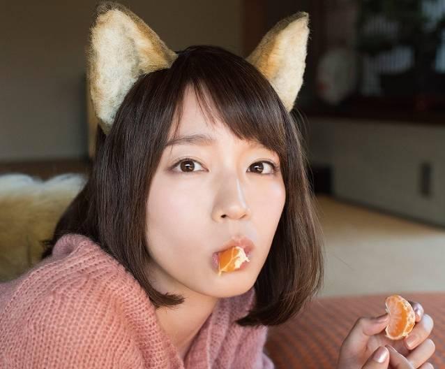 吉岡里帆のキツネがかわいい