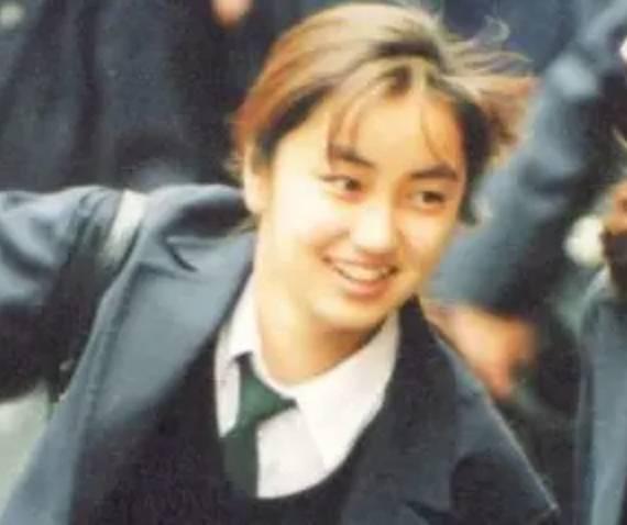 矢田亜希子の昔・高校生の顔