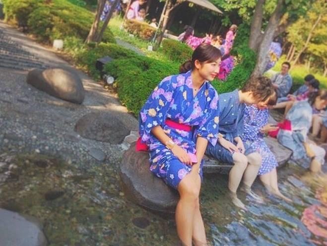 池江璃花子の足が長い美脚の画像1