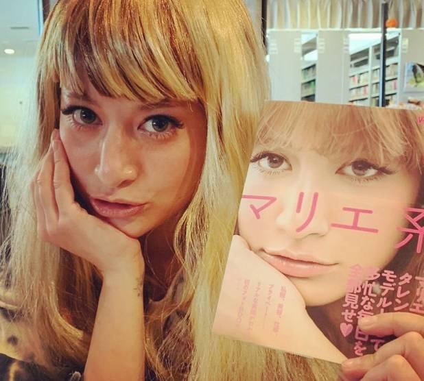 マリエの若い頃と現在の顔画像比較