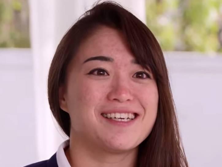国米桜さんはハーフ