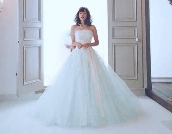 モーガン茉愛羅,現在,かわいい,ウェディングドレス画像
