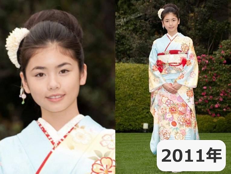 2011年・小芝風花の子役時代の顔がかわいい