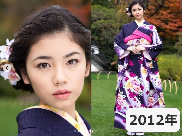 2012年・小芝風花の顔が変わった