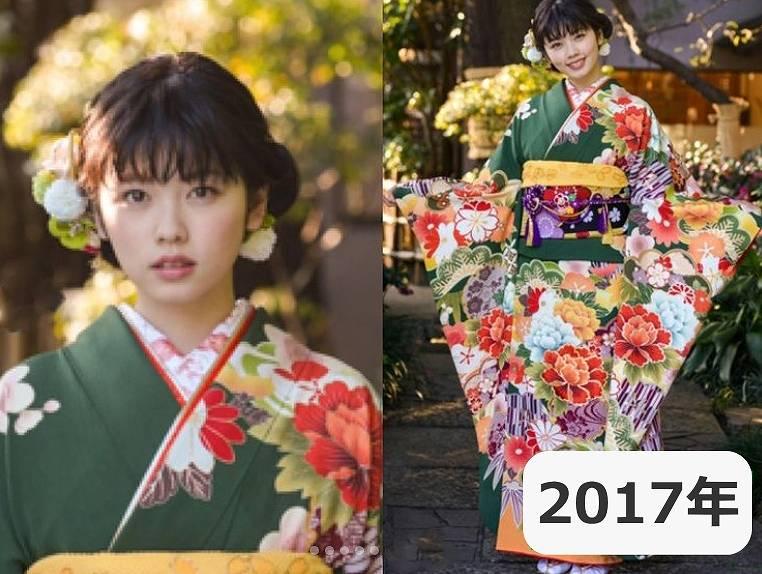 2017年・小芝風花の顔画像
