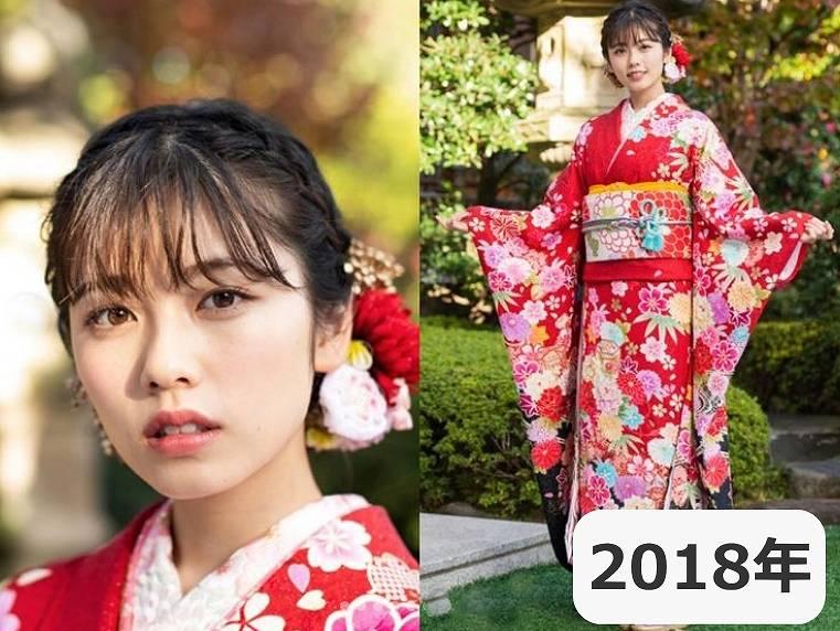 2018年・小芝風花の顔が別人のように変わった