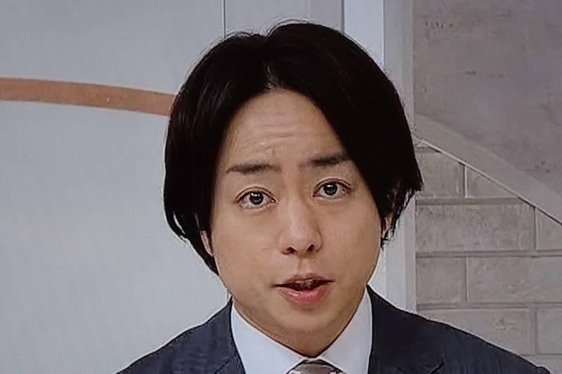 櫻井翔,髪型,変,ロン毛,髪の毛,画像2